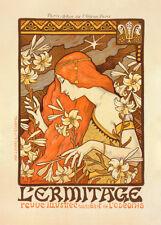Revue l'Ermitage by Paul Berthon 90cm x 64cm Art Paper Print