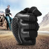 Bike Cycling Gloves Touch screen Breathable PU Gloves No-slip Riding Mittens