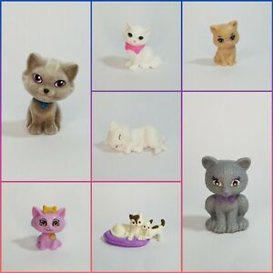 ASSORTED LOT OF CAT PETS ACCESSORIES BARBIE DOLLHOUSE MINIATURES - You Choose