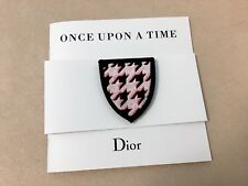 """Christian DIOR """"Once Upon A Time"""" Brooch Badge Pin with Brochure - Collectible"""