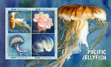 Tuvalu -2017-PACIFIC JELLYFISH SHEETLET OF 4