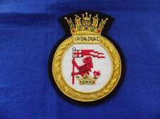 HMS IRON DUKE BLAZER BADGE