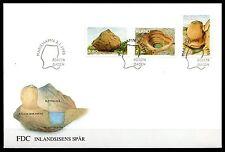 Finland / Aland - 1995 Rock formations Mi. 92-94 FDC