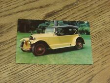Used 1919 Kissel Kar Postcard from the Forney Transportation Museum (FC1-4)