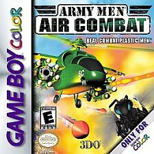 ARMY MEN AIR COMBAT GAME BOY COLOR GBC COSMETIC WEAR