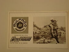 advertising Pubblicità 1972 MOTO BULTACO