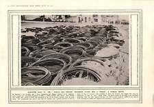 1914 bobine di filo di ferro-per fermare i frammenti della Shell acquisiti PISTOLE Porta di Brandeburgo DISP