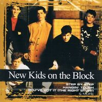 New Kids On The Block - Collections - CD NEU Hits Step by step - Hanging tough