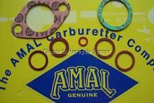AMAL PRE MONOBLOC 289 CARB GASKET WASHER SET, GENUINE SPAIRS. RKC/531