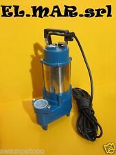 Elettropompa Sommersa TRIFASE HP 1,5 KW 1,5 pompa fogna acque nere sporche