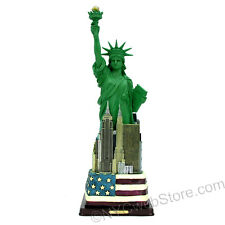 """12.5"""" Statue of Liberty Statue w/ Flag Base from New York City Gift Shop Online"""
