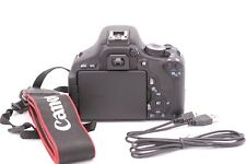 Canon EOS 600D (EOS Rebel T3i) 18.0MP Digital SLR Camera - Shutter Count: 121