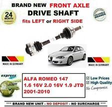 FOR ALFA ROMEO 147 1.6 2.0 16V T.SPARK 1.9 JTD 2001-2010 FRONT AXLE DRIVESHAFT