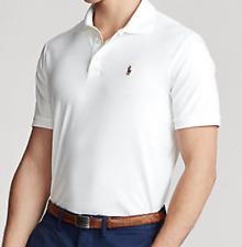 Polo Ralph Lauren Mens White Slim Fit Polo Size Medium NEW