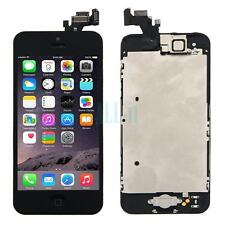 New Complete Housing LCD Touch Digitizer Glass Screen for Iphone 5 & Home Button