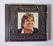 JOSE FELICIANO - ALL TIME GREATEST HITS 1988 CD ALBUM - GOOD CONDITION
