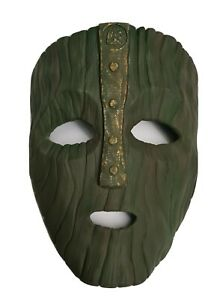 """Loki Mask From """"The Mask"""" 3D Printed Replica"""