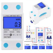5-32A 230v 50Hz Digital Schiene Einphasig Power Watt Elektronik Energy Meter