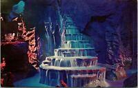 Vtg 1960s Disneyland Postcard Rainbow Caverns Frontierland DT-35921 Unposted