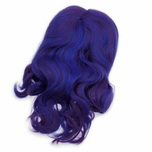 Disney Authentic Descendants 3 Mal Costume Wig for Kids Dress Up NEW