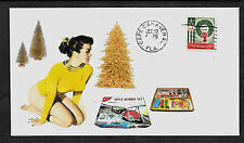 1965 Nichimo Road Race Set & Pretty Girl Featured on Collector's Envelope *A339