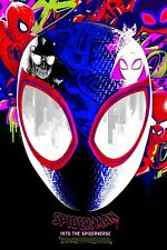 Spider-Man Into The Spider-Verse Movie Poster Wall Art - NEW - 11x17 13x19 - USA