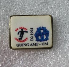 Pins Football . Guingamp / OM Marseille . 1994