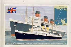 """E 207 TSS """"ISLE OF SARK"""" on CHANNEL IS.SERVICE (With Queen Mary) - Dalkeith"""