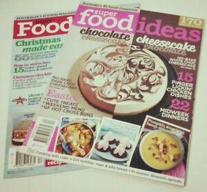 2 x SUPER FOOD IDEAS MAGAZINES - 2015