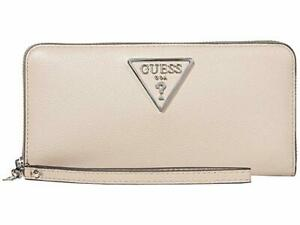 GUESS G Legend SLG Large Zip Around Taupe One Size