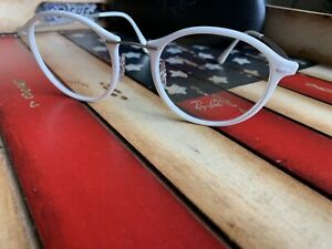 Ray Ban RB 7073 5618 Round Eyeglasses Optical 49mm. Option To Add RX