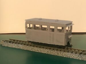 HOe Prototype Tram/ Railcar for KATO 103 / 109