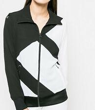 Womens Adidas Originals Track Top EQT TT Firebird Jacket UK 12 NEW black / white