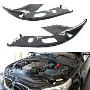 For BMW E60 525xi 528i 530i 525i Left & Right Upper Headlight Headlamp Gaskets