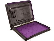 Prime Hide A4 Leather Executive Portfolio Business Conference Folder Sleeve Case