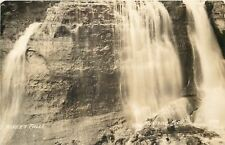 Munising Michigan~Real Photo~Miner's Falls~Northern MI Escarpment~1940s
