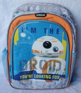 NWT Disney Star Wars American Tourister I'm the Droid Your Looking For Backpack