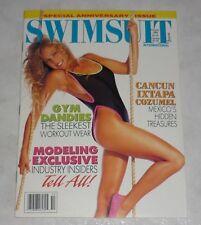 SWIMSUIT INTERNATIONAL Magazine October 1989 Hi Grade! Suze Randall Swimwear USA