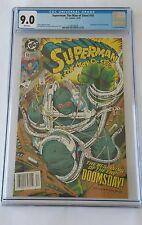 Superman Man Of Steel #18, DC, CGC 9.0, 1st Doomsday