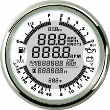 6 in 1 Tachometer Speedometer Water Temp Hour Meter IP67 Waterproof &Dustproof