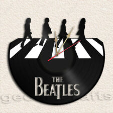 Beatles Wall Clock Vinyl Record Clock Upcycled Gift Idea