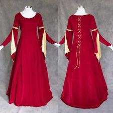 Medieval Renaissance Gown Dress LARP Costume Wedding 4X