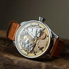 Special design watches,skeleton watch movements,personalized watches for men