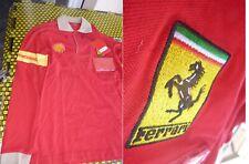 Scuderia Ferrari,NEW SHIRT factory mechanical / FIRE SERVICE(no longer in USE)