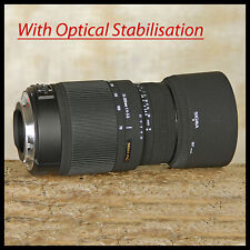 Canon EOS EF AF fit Sigma Optical Stabilizer OS DG 70 300mm Full Frame DSLR