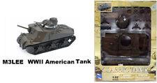3PCS New Ray Classic Tank plastic model kit-M3LEE,M3A2,M16 WWII Medium Tank