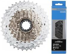 Shimano CS-HG81 SLX 10Spd Cassette 11-34t Dyna-Sys + CN-HG54 10-Speed Chain