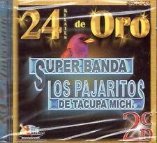 Super Banda Los Pajaritos De Tacupa Michoacan 24 Kilates de Oro CD New Sealed