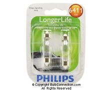 NEW Philips 6411 Automotive 2-Pack 6411LLB2 Bulb