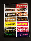 14 Supreme Skateboard Longboard Vintage Vinyl Sticker Laptop Luggage Car Decals